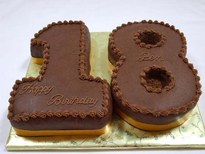 18 cakes