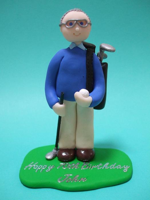 Novelty Golf Wedding Cakes