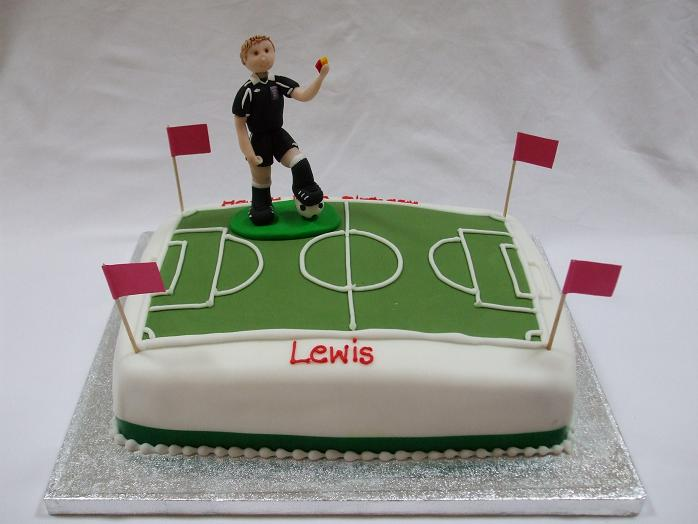 Football Themed Cakes http://www.cakesbynoveltycakes.co.uk/3dcakes/